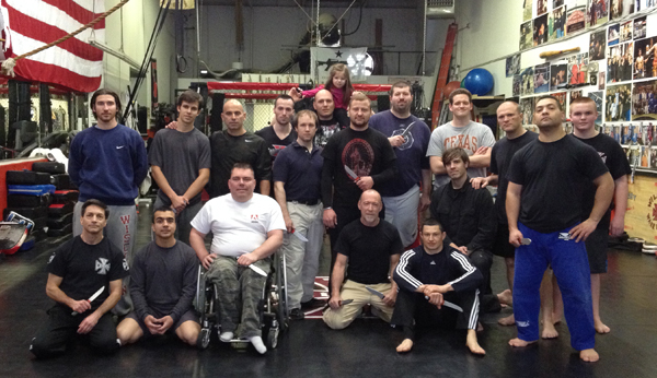 Systema Knife Defense Seminar - 1/26/14