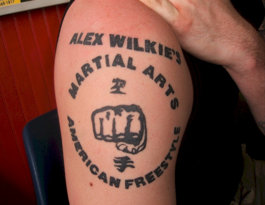 Martial Arts Tattoo Designs Alex wilkie's martial arts