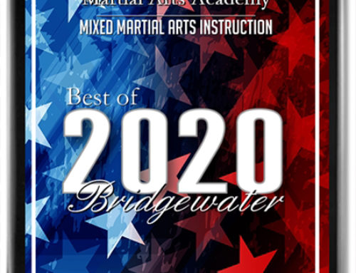 Alex Wilkie's Martial Arts Academy Receives 2020 Best of Bridgewater Award